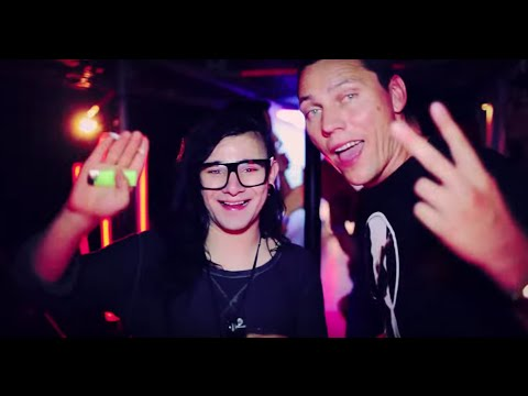 Skrillex in Ibiza