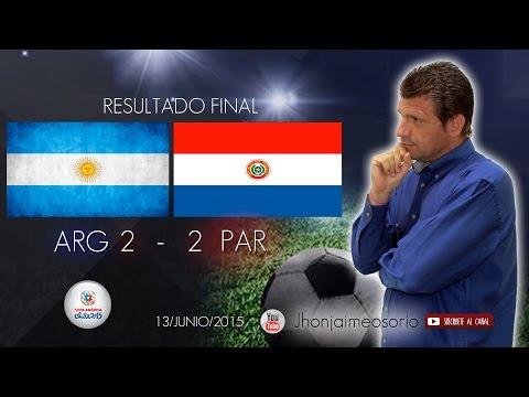 Resultado Argentina Vs Paraguay / JJ Te habla Cap.23 / Copa América Chile 2015
