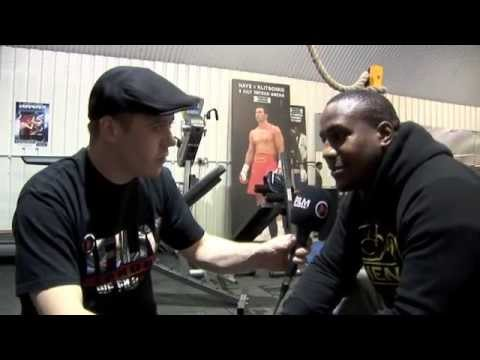 BRIXTON HEAVYWEIGHT IAN LEWISON ON HIS NEXT FIGHT with COLIN KENNA @YORK HALL ON JULY 13 2013