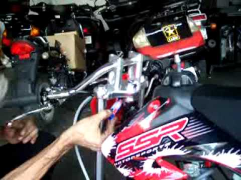 SSR 125cc Pit Bike / Dirt Bike Assembly by HIGH STYLE MOTORING (562) 945-8361