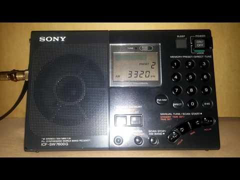 DX Radio Sonder Grense 3320 khz - South Africa - Meyerton. 10.857 Kms.