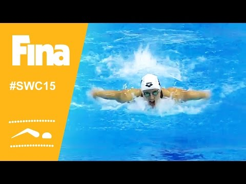 Amazing Swimming World Cup 2015 finale in Dubai (UAE)