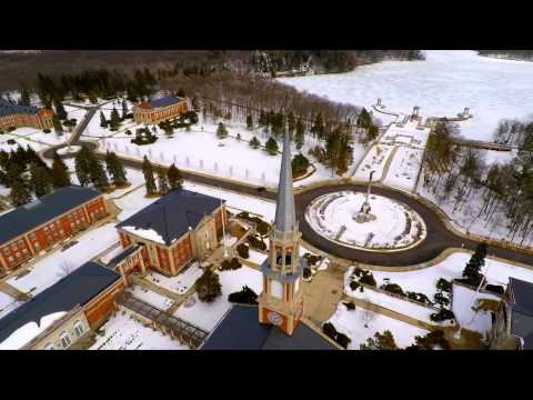 Mundelein Seminary Chicago Mundelein Seminary Drone