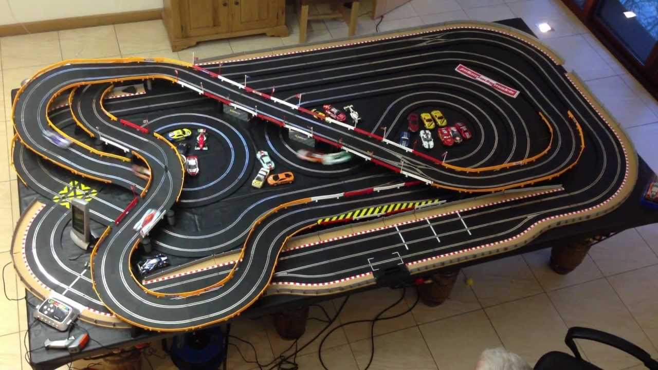 Scalextric Racing Cars