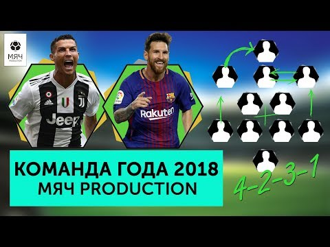 Команда лучших игроков 2018 года Мяч pro
