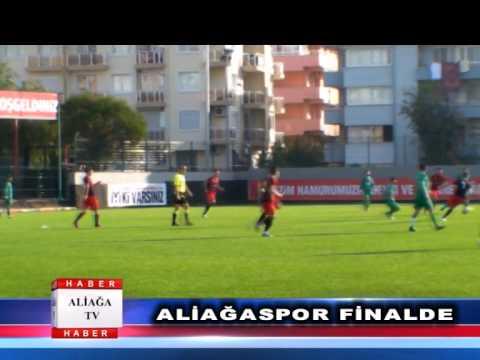 Aliağaspor finalde