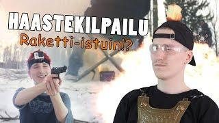 HAASTEKILPAILU: Raketti-istuin!?
