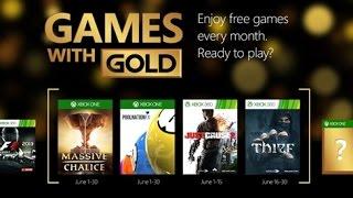 GAMES WITH GOLD JUNIO 2015!!!(XBOX ONE-XBOX 360) (JUEGOS GRATIS PARA XBOX 360 Y XBOX ONE)