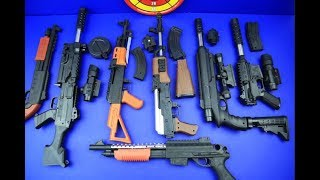 Box of Toys ! GUNS BOX Toys Military & Police equipment | Gun toy (11)