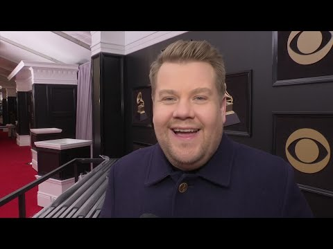 James Corden's favorite part about hosting the Grammys