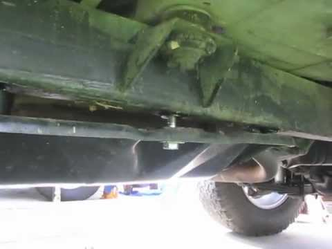 Jeep YJ. Transfer Case Lowering kit installation.