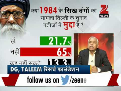 Special: Zee Media's biggest election survey on Delhi Assembly polls 2015