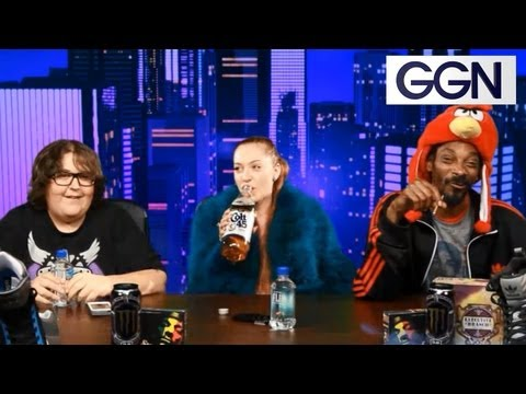 Snoop Dogg Orders Matza Balls with Andy Milonakis and Hits From the St. on GGN