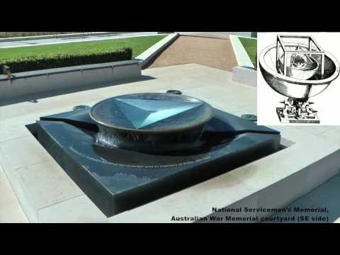 Illuminati Australia Plus (pt 5) Canberra road trip. Australian War Memorial