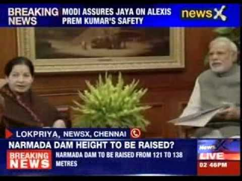 Narendra Modi assures Jayalalithaa on Alexis Prem kumar's safety