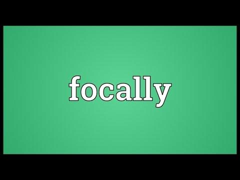 Header of focally