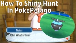 HOW TO SHINY HUNT IN POKEPELAGO! +Shiny Carbink Reaction!