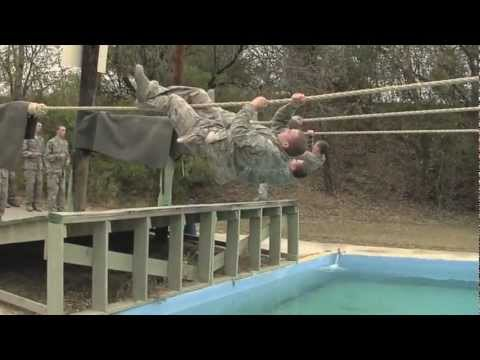Air Force Basic Military Training BMT Obstacle Course
