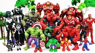 The Witch appeared with Villains, Go~! Spider Hulk, Iron man, Captain America, Hulkbuster