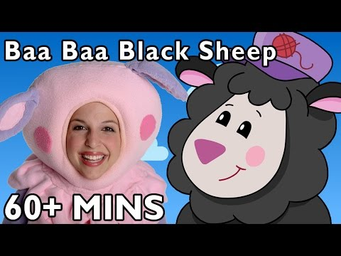 Baa, Baa, Black Sheep And More | Nursery Rhymes From Mother Goose Club video