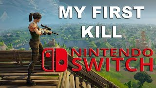 My first KILL on NINTENDO SWITCH | FUNNY MOMENTS | Goofin Group