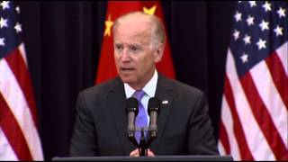 Biden: China Cyber-theft Must Stop  7/10/13