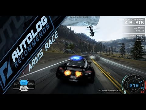 Need for Speed Hot Pursuit Autolog Recommends - Arms Race