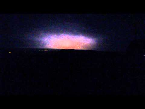 Photo of lightning storm over Devils Dyke, Poynings. West Sussex