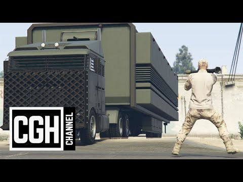 Gunrunning DLC Vehicles Explosive Test - GTA Online