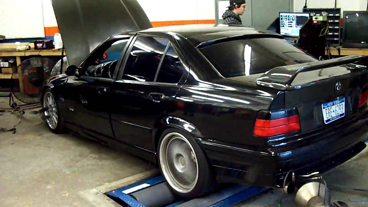 Maximumpsi dyno day bmw turbo e36 328i motor 2 8l youtube