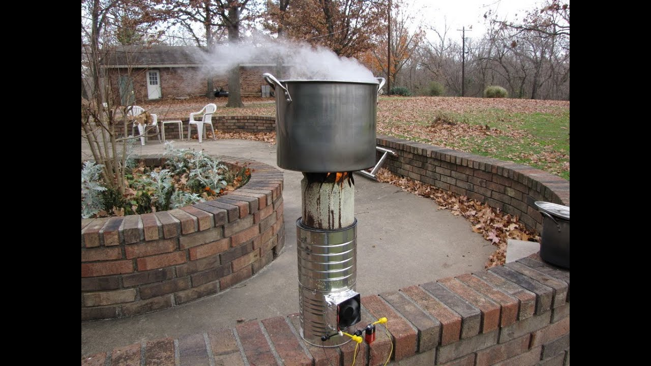 how to make gasifier stove