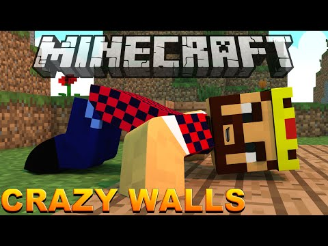 ПРЯЧУЩИЕСЯ ВРАГИ - Minecraft Crazy Walls (Mini-Game)