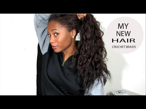 New Hair: Crochet Braids with FreeTress Hair - YouTube