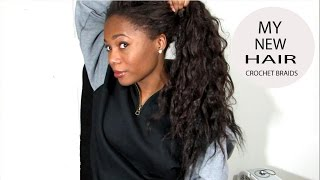 New Hair: Crochet Braids with FreeTress Hair 05:38
