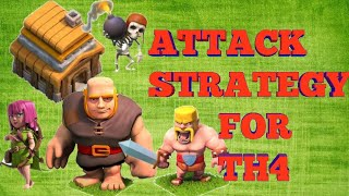 Attack strategy for th4
