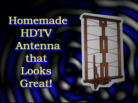 Homemade HDTV Antenna that Looks Great!
