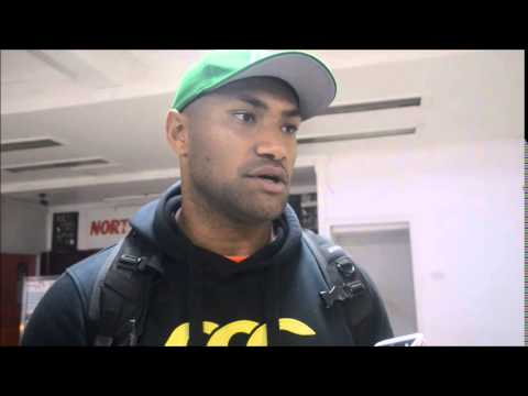 Fiji Sun Interview with Nemani Nadolo after New Zealand Maori All Blacks Test Match