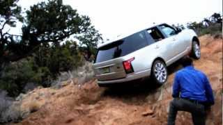 2013 Range Rover Land Rover Off-road drive test