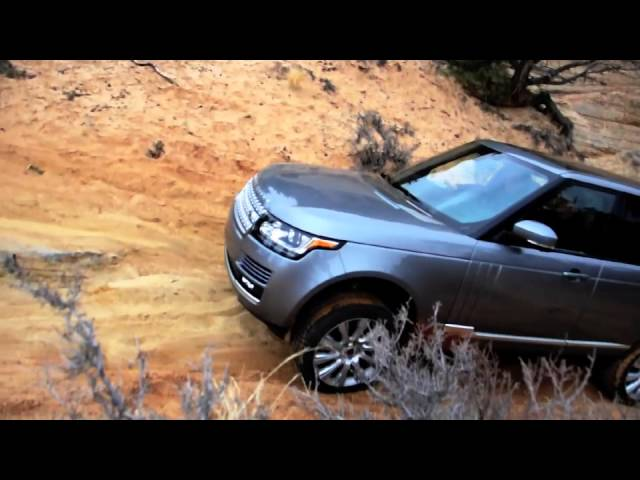 2013 Range Rover Land Rover Off-road drive test - YouTube