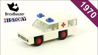 Lego Legoland 600 Ambulance - 1970 - BrickBuilder History