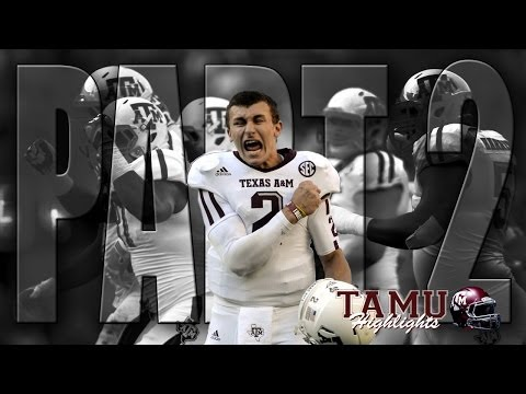 Johnny Manziel Heisman Highlight Video Part 2