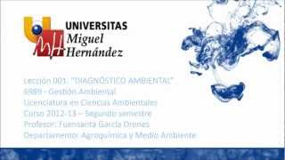 Umh6989 2012-13 Lec001 Diagnostico Ambiental