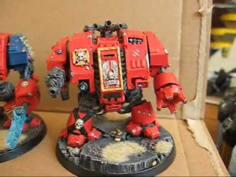 Blood Angels Dreadnought Warhammer 40k