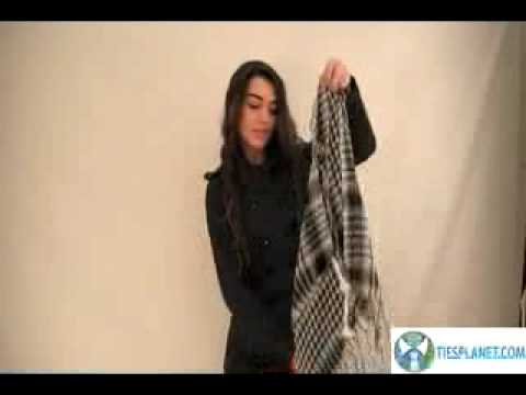 How To Tie A Shemagh Scarf For Fashion