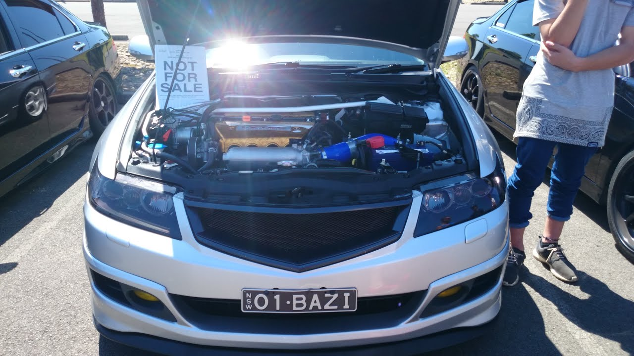 Honda Accord Euro Cl9 Cold Air Intake Brutal Revs Youtube