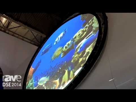 DSE 2014: NEC Presents Its Projection Fishbowl With PX750U Projector and Da-Lite Projection Screen