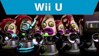 Wii U - Splatoon Single Player Trailer