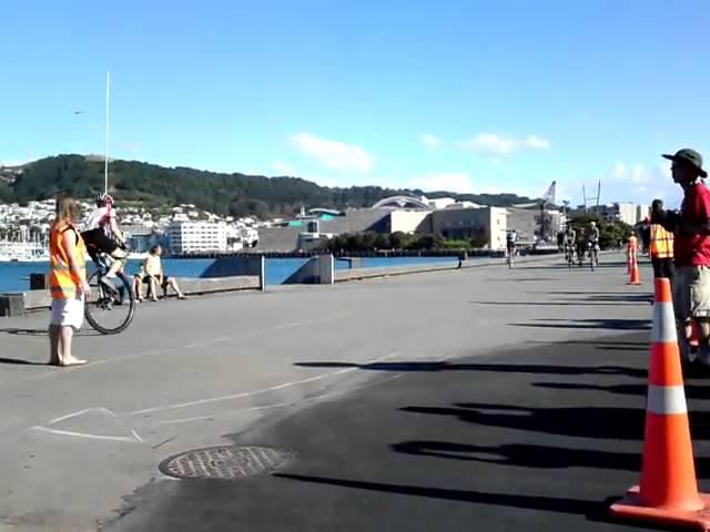Wellington Unicycle Race