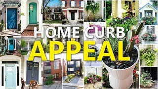"22 Home's Curb Appeal Ideas ""REMAKE"""