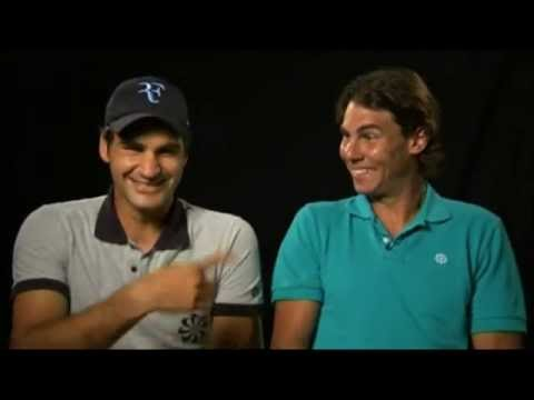 Roger Federer & Rafael Nadal Charity Matches - Outtakes